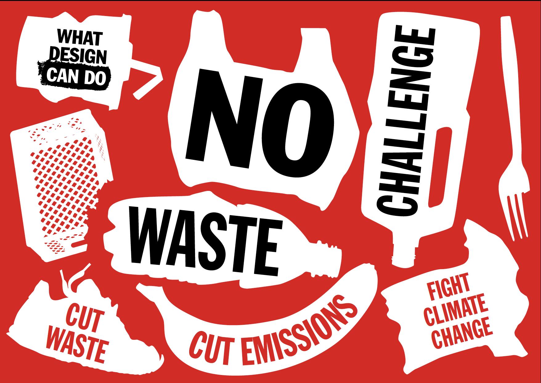 """""""设计何为""""有关浪费与消费主义的海报"""