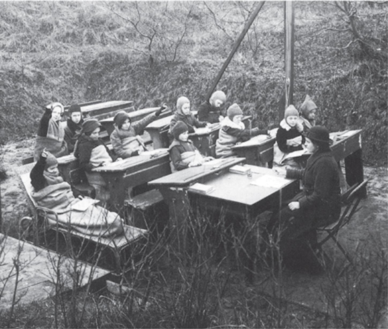 20世纪初的户外教学解决方案
