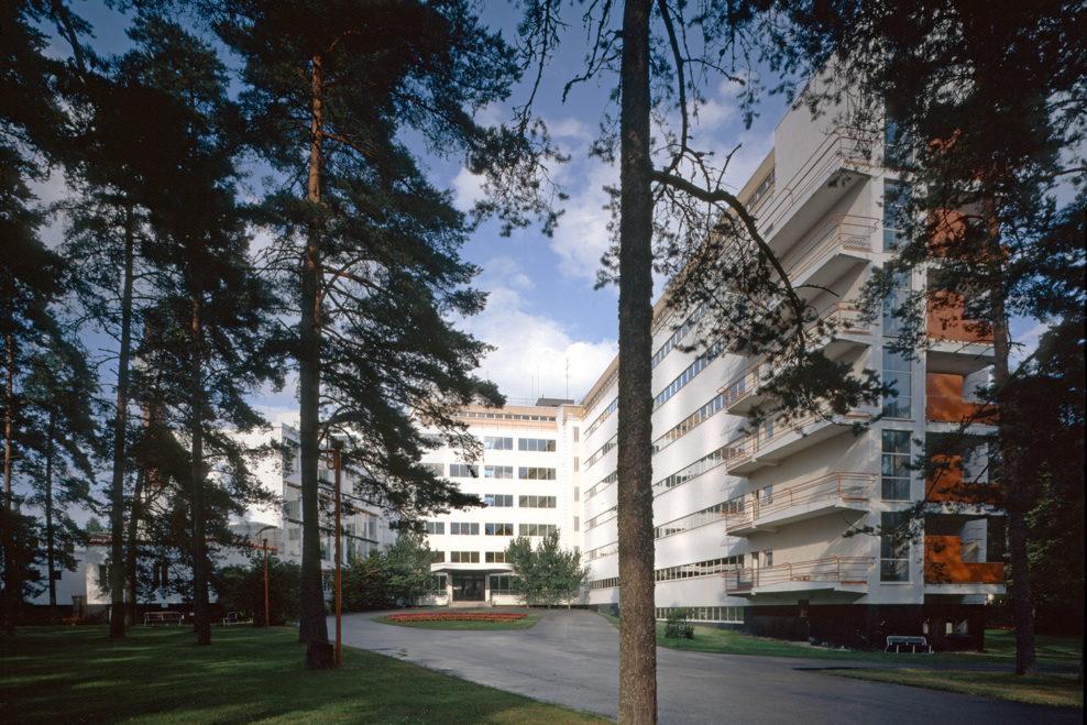 阿尔瓦·阿尔托设计的帕伊米奥疗养院