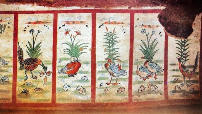 早期艺术里的花花朵朵:从古彩陶到唐代壁画里的花卉