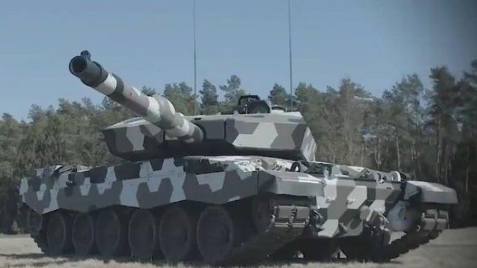 講武談兵|德國展示130毫米坦克炮,四代坦克火力現雛形