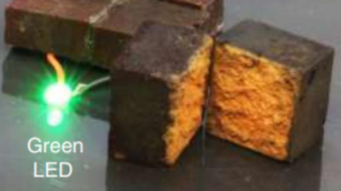 """美科學家用磚頭做""""電池"""",防水又堅固:秘訣是這種紅色物質"""