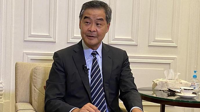 梁振英:支持人大決定,未來香港將集中精力防疫抗疫
