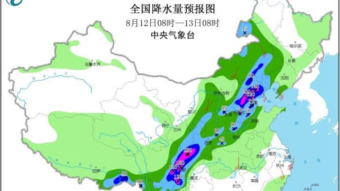 四川盆地雨势猛烈,长江上游或再现洪峰
