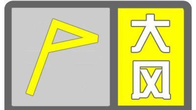北京升級發布大風黃色預警,局地可達11級以上