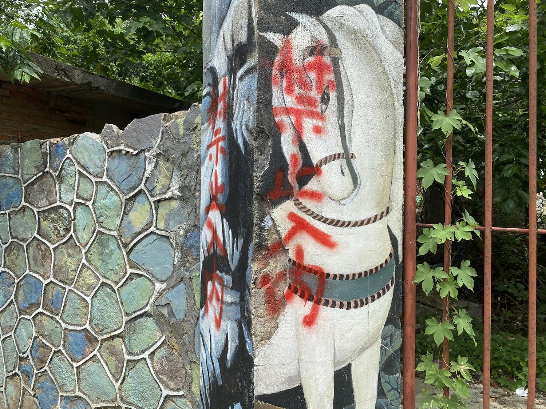 三鸟仓艺术空间已被禁止入内。 本文图片均为受访者供图