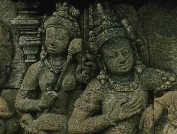 婆罗浮屠中的浮雕