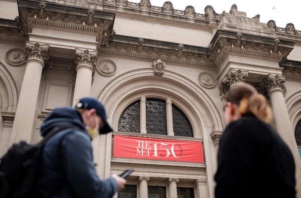 纽约大都会博物馆目前处于闭馆中