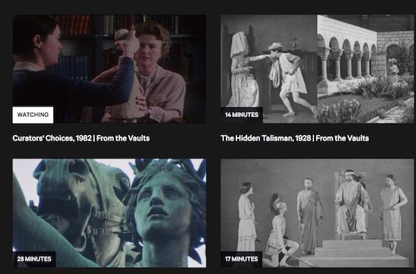 """大都会博物馆线上影像档案项目""""From the Vaults"""""""