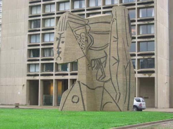 毕加索《希薇特半身像》