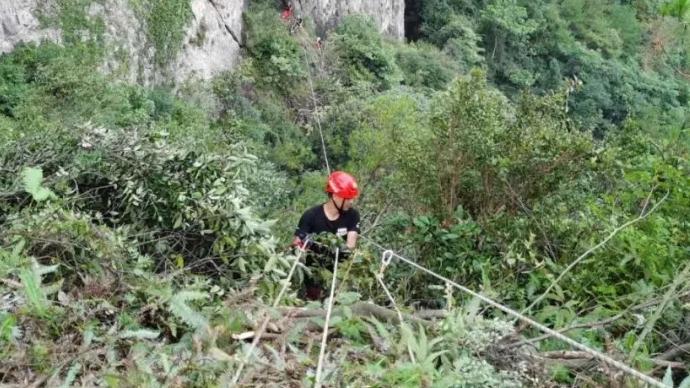 獨行女子在溫州一處未開放景區墜亡,警方基本排除他殺可能