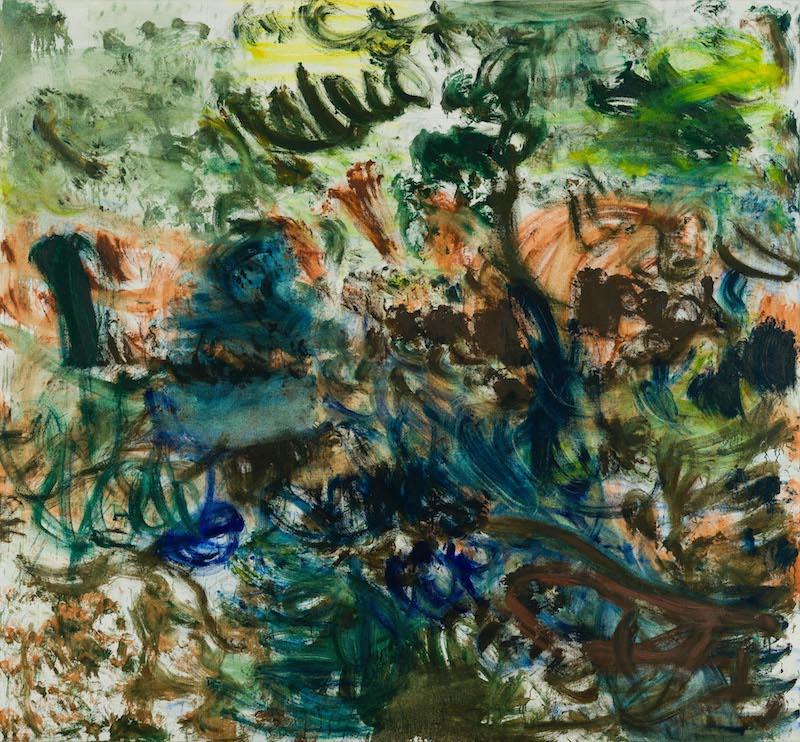张恩利《花园16》布面油画2017