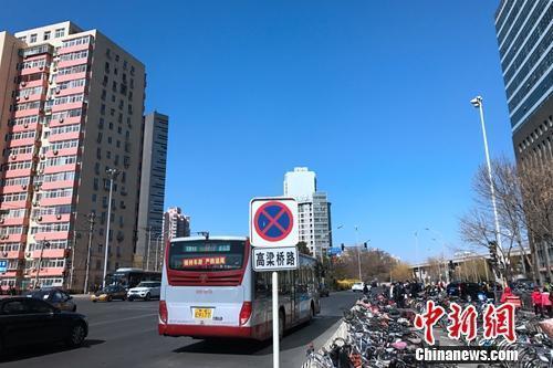 北京西直门附近某居民幼区。