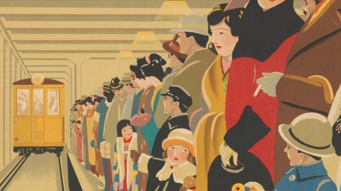 """遙想百年前的""""日本現代主義"""":那個時代的海報、彩印與服飾"""