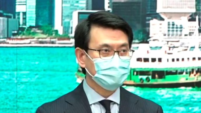 """邱腾华:美禁用""""香港制造""""做法野蛮,正研究可采取的行动"""