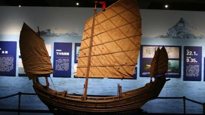 """内蒙呈现""""南海Ⅰ号""""沉船与南宋海贸文物"""