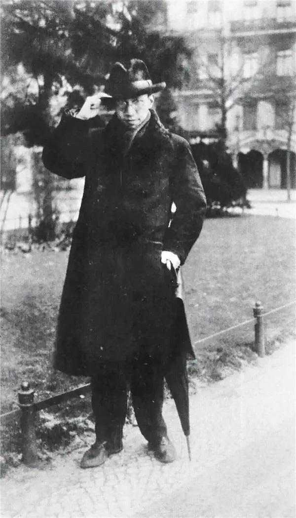 在德国留学的陈寅恪