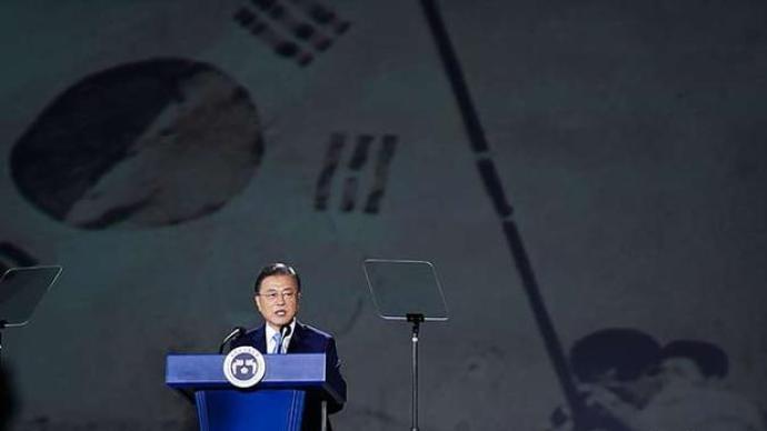 文在寅发表光复节75周年讲话:韩国始终敞开与日本对话大门