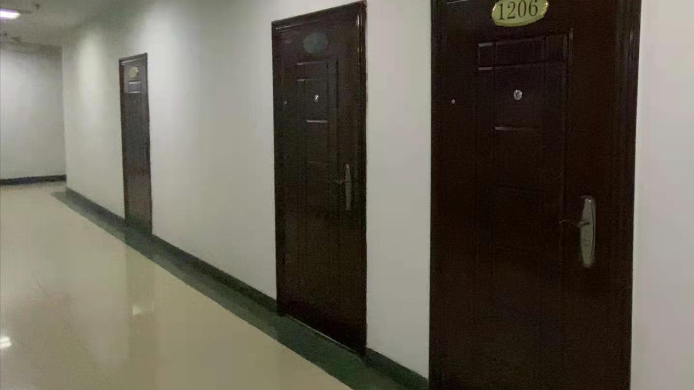 青海省兴青工贸工程集团有限公司办公区几乎无人
