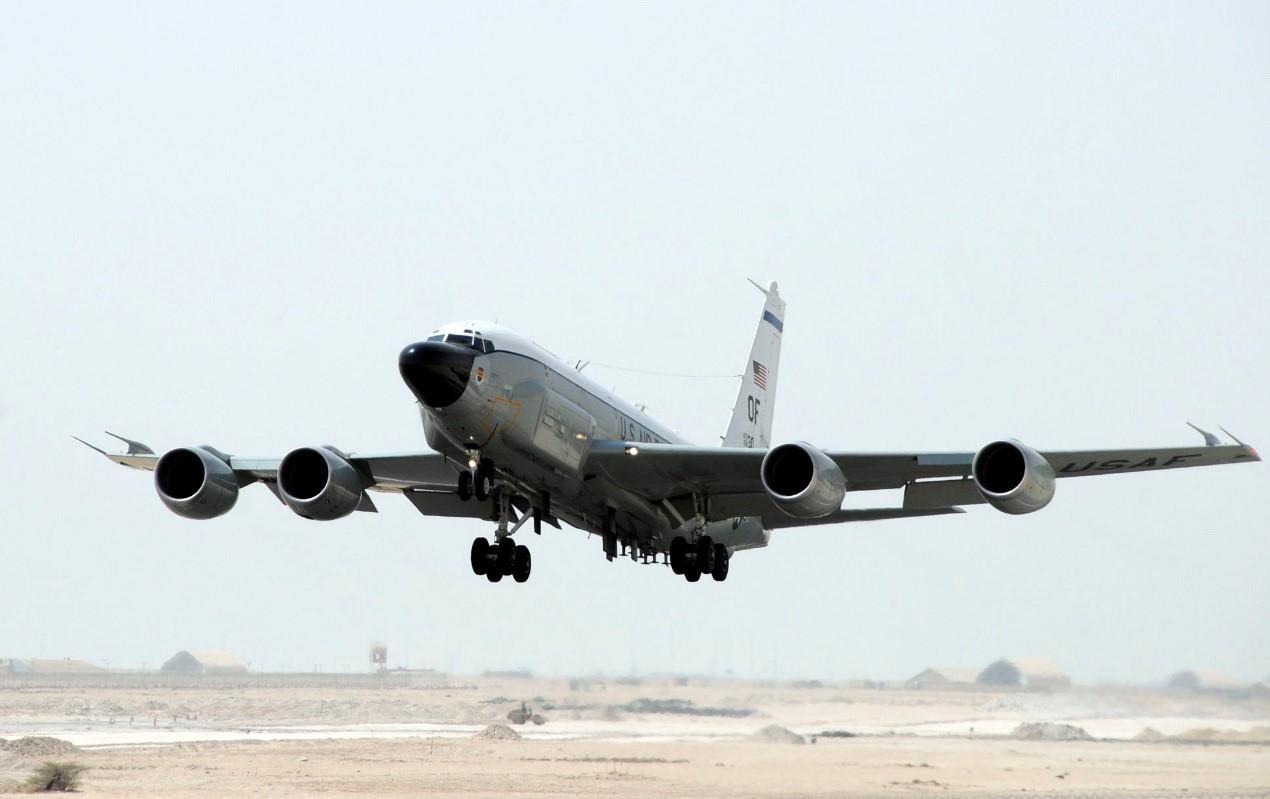 RC-135侦察机,外形很像一架客机