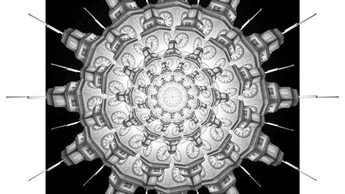 攝影師|沈忠海:古典手工印相①上海鉑金穹頂