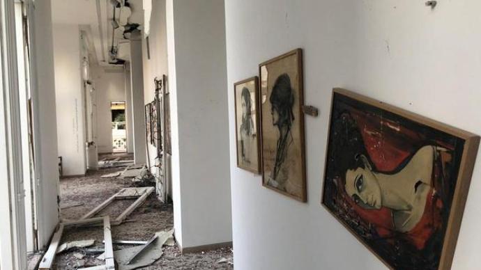 """貝魯特爆炸中的文化遺產需要""""急救"""",教科文組織等發起行動"""