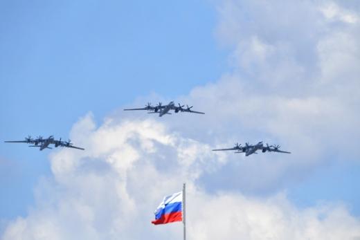 资料图:俄图-95MS战略轰炸机