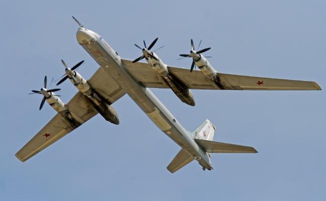 资料图:俄罗斯图-95轰炸机