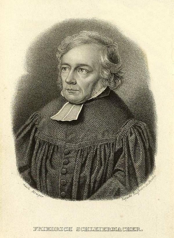 """""""现代阐释学之父""""(the father of modern hermeneutics as a general study)——德国神学家、哲学家施莱尔马赫(Friedrich Schleiermacher)"""