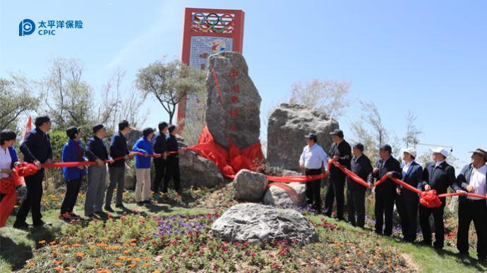 中国太保三江源生态公益林正式落成
