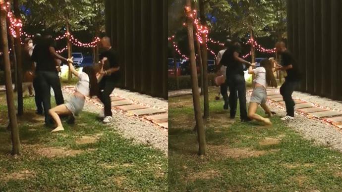 中國女子馬來西亞遇搶劫:喝茶時被三男子當街拖走