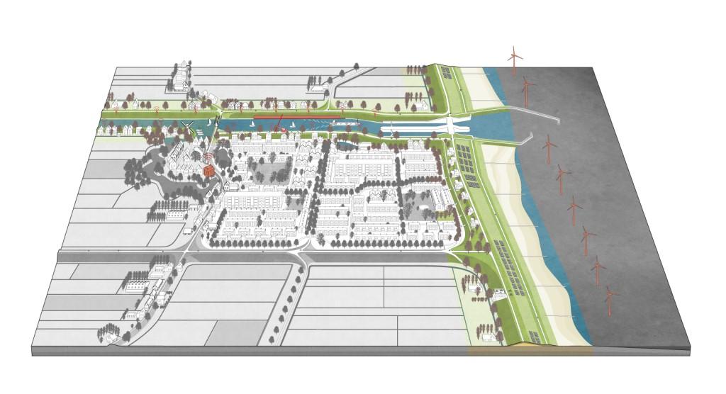 荷兰堤防模型一:应对风险。图片来源:http://dutchdikes.net/future/