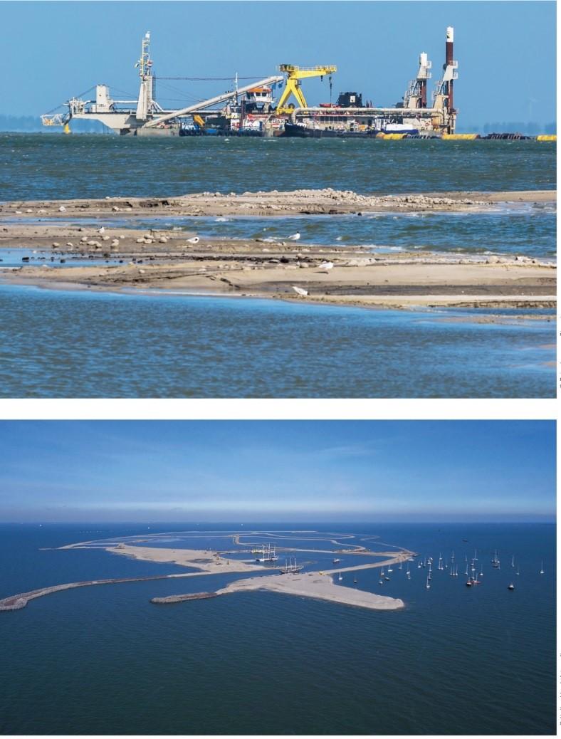 马尔肯湖-瓦登海项目实景。图片来源:https://www.overland.nl/Landschapsbiografie%20Wadden%20DEF%20print.pdf