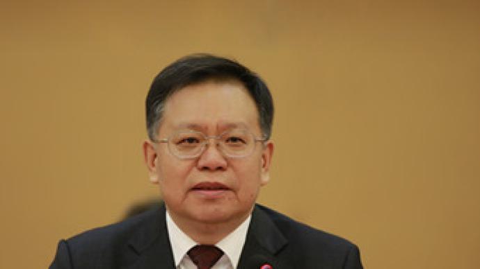 陳奮健任上逝世后,汪建平出任中國鐵建黨委書記、董事長
