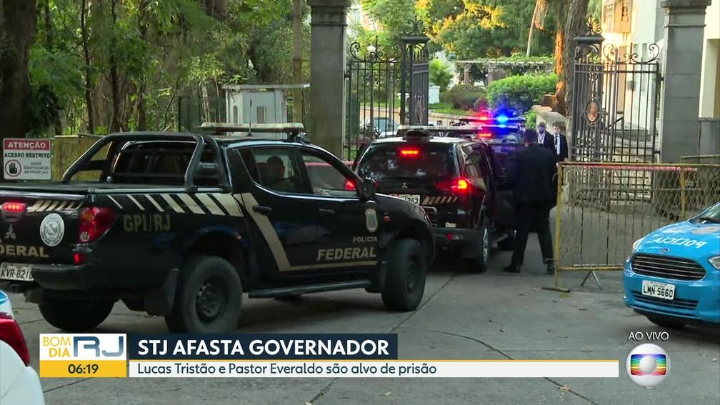 巴西環球電視網報道搜查維澤爾的官邸