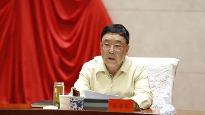 內蒙古黨委原常委、自治區原常務副主席馬學軍轉崗自治區政協