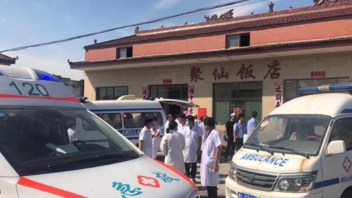 山西襄汾聚仙飯店坍塌,村民:二層彩鋼房系后期加蓋