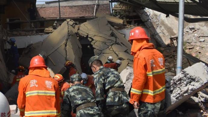 山西襄汾飯店坍塌事故已致13人遇難、4人重傷
