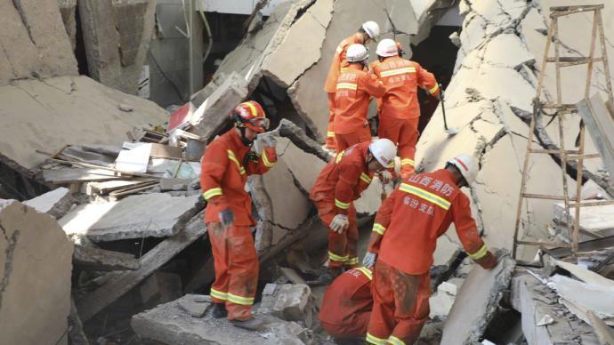山西襄汾飯店坍塌事故已致17人遇難、7人重傷
