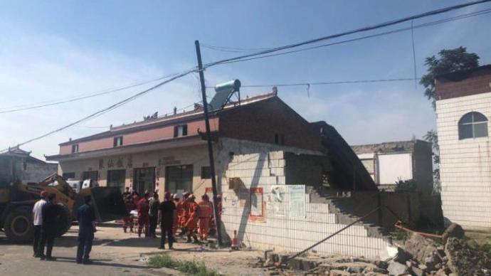山西襄汾飯店坍塌事故已致20人遇難:全省開展安全專項檢查