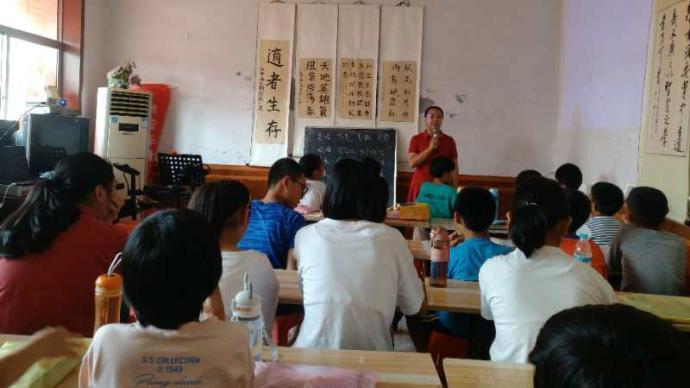 師者|想起兒時只能玩土研究舊馬達,他從深圳回鄉辦公益學堂