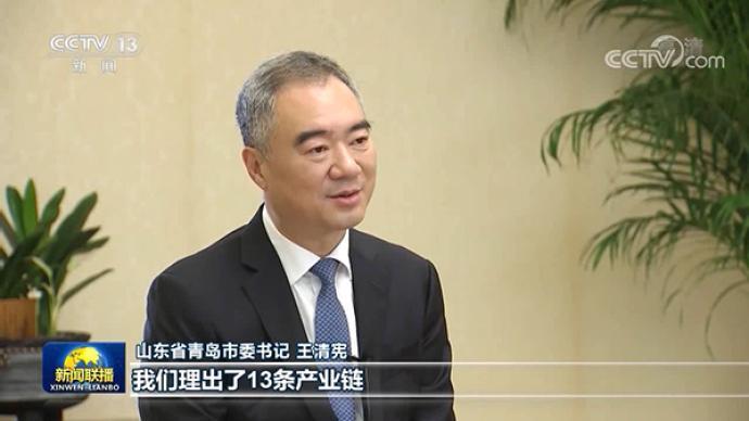 视频丨青岛市委书记王清宪:用高水平开放服务双循环格局