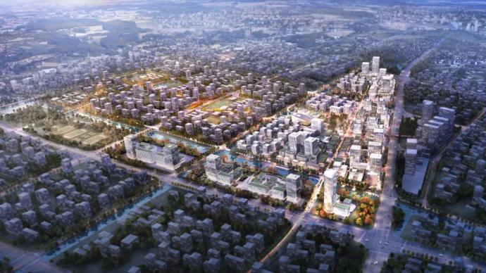 """迈向卓越的上海2035人居版图,跳动着一颗""""北上海之心"""""""