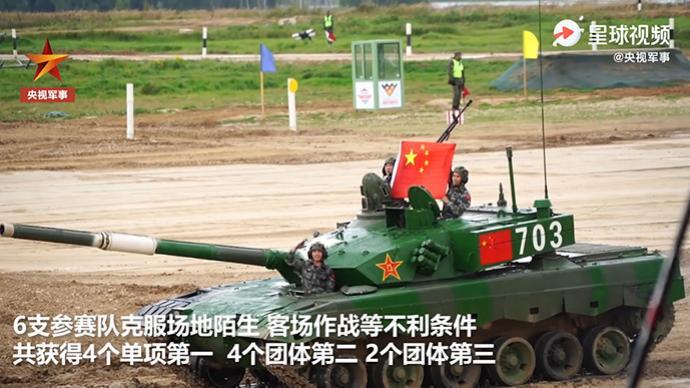 4個單項第一、4個團體第二,中國軍人赴俄參加軍事比賽創佳績