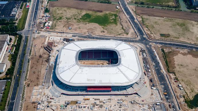 城事|探訪中國首個國際A級球場:浦東足球場下周階段性交付