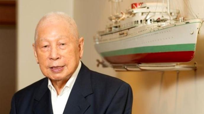 """愛國華僑、""""新加坡船王""""張允中去世,享年102歲"""