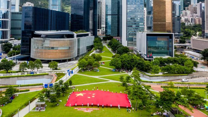 行政長官創新及策略發展顧問團:國安法已令香港恢復穩定