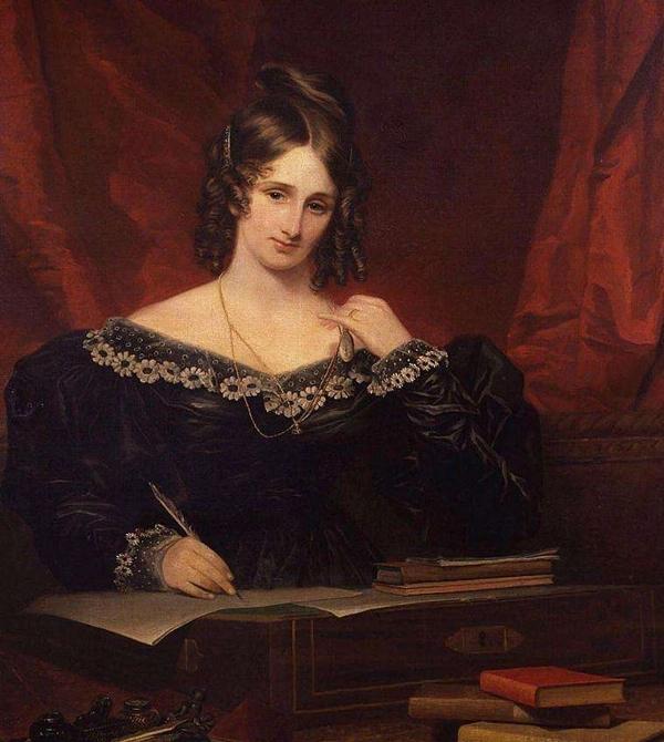 玛丽·雪莱画像