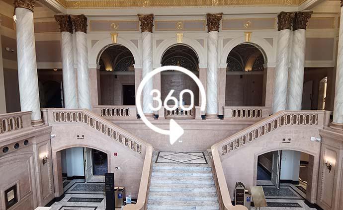 360°全景|修旧如旧,90岁高龄上海音乐厅今日重装归来
