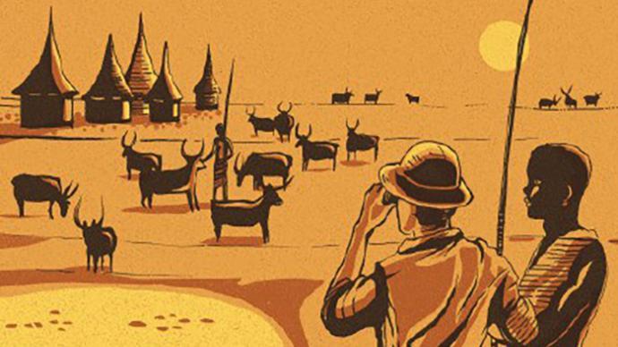 八十本书环游地球︱纽约:《雨王亨德森》